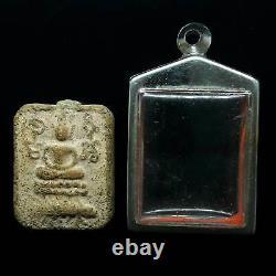 PHRA LP PARN PIM KEE MEN(Porcupine) THAI BUDDHA AMULET OLD LUCK CHARM THAILAND