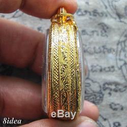 PHRA PIDTA LP TOH WAT PRADOOSHIMPEE PIM JUMBO 1 Thai Amulet Buddha BE. 2521#3