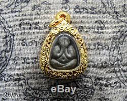 PHRA PIDTA MAHA SANEH LP TOH WAT PRADOOSHIMPEE Thai Amulet Buddha BE. 2518 T5