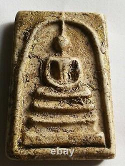 PHRA SOMDAJ- Lp Toh Wat Rakang Real Old Antique Buddha Thai Amulet very rare A+