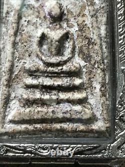 PHRA SOMDEJ TOH WAT Bang Khunphrom! OLD RARE THAI AMULET ANTIQUE BUDDHA