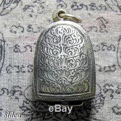 PHRA SOOMGOR KRU WAT TONGSETTREE Thai Amulet Buddha Antiques Holy Luck Charm