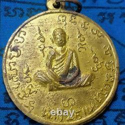 PRA-Genuine-LP-Rare- Kalaitong-Monk- year-b-e-2514-Talisman-Thai-Buddha-Amulet