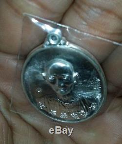 Pae Rong See Thai Buddha Amulet POWER Protect Genuine Wealthy Success Hot Rare