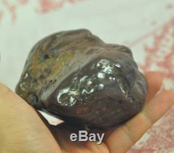 Phaya LEKLAI Natural Thai buddha AMULET Ritual Stone LP somporn Protect Lucky