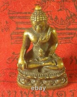 Phra Antiques AIBODEE wat thai Amulet Buddha best holy items Thailand RARE OLD