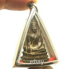 Phra Buddha Chinnaraj Thai Famous Amulet Buddhist Pendant Lucky Rich Happy Love