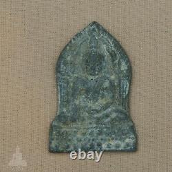 Phra Buddha Chinnarat Bai Sema Sukhothai Era, Nuer Chin Ngern Thai Buddha Amulet