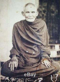 Phra JAOWSUA LP BOON For Money Lucky Amulet Thai Buddha Magical Yantra Pendant