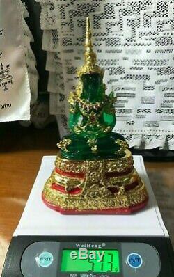 Phra Kaew Morakot Seasons Buddha Protect Love Thai Amulet Rich Magic Devil Green