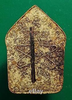 Phra Khun Paen Embed 1 Takrud LP Tim Wat Lahanrai b. E. 2515 Thai Buddha Amulet