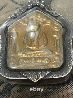 Phra Khun Paen, L P Tim Wat Rahanrai Have Takoot, Real Case, Thai Buddha amulet