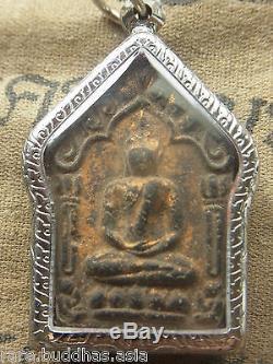 Phra Khun Paen, L P Tim, Wat Rahanrai, Nang Phaya, Takrut, Yun Ha Thai Buddha Amulet