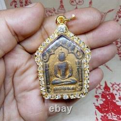 Phra Khun Paen LP Tim Wat Rahanrai 9 Takrut Pendant Talisman Thai Buddha Amulet