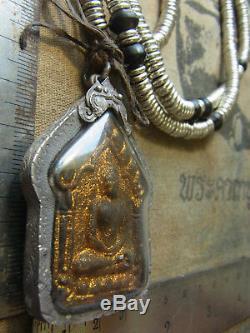Phra Khun Paen Phan L P Tim, Wat Rahanrai Takroot, Thai Buddha amulet year 2518