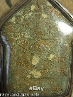 Phra Khun Paen, Phan, L P Tim, Wat Rahanrai Yunt Ha on the back, Thai Buddha amulet