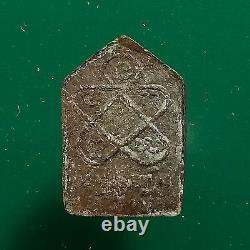 Phra Khun Paen Pim Lek (small) LP Tim Wat Lahanrai b. E. 2515 Thai Buddha Amulet