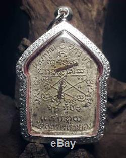 Phra Khun Paen Pong Plai Guman LP Tim Wat Rahanlai B. E. 2518 Thai Buddha Amulet