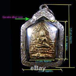 Phra Khun Paen Small Pim LP Tim Wat Lahanrai Thai Buddha Amulet Pendant Talisnan
