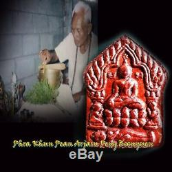 Phra Khun Pean Amulet Arjarn Peng Boonyuen, Thai Buddha Powerful Money Lucky