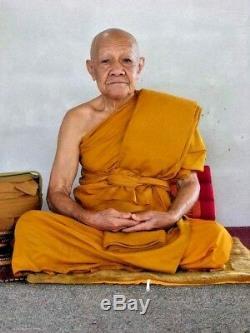 Phra Khunpaen Leklai LP Ong Luck Rich Charm Protect Thai Buddha Amulet Pendant