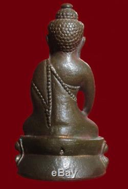 Phra Kring, L P Tim Wat Rahanrai B. E. 2518. Bronze. Thai Buddha Amulet