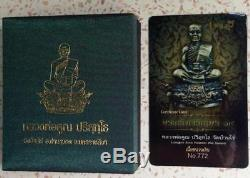Phra Kring LP KOON Wat Banrai Temple Case Thai Buddha Amulets Wealth Lucky Rich