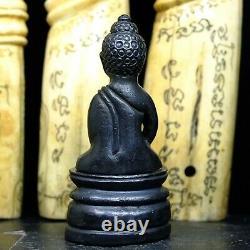 Phra Kring Lek Gold, Wat Suthat Bangkok yr 2485 Jao Khun Sri Sonthi Thai Buddha