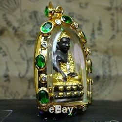Phra Kring Pavares, Wat Bowanniwet Gold, Thai Buddha year 2487, beautiful! #2