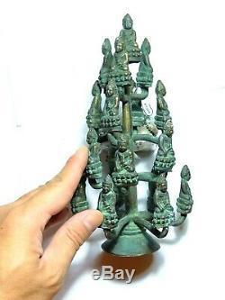 Phra Kring Wat Suthat Rare Bronze Be 2485 Thai Buddha Amulet