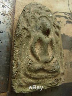 Phra Kru Nadool (Nadoon) Pang Nang Smathi, Thai Buddha Amulet powerful energy