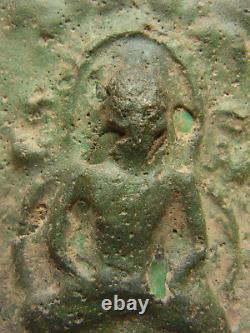 Phra Kru Nadool (Nadoon) pim Pang Nang moung Thai Buddha Amulet powerful energy