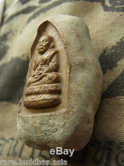 Phra L P Thuad Wat Chang Hai, shell Fossil, Cave(Hoikae) Thai Buddha yr 2506