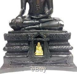 Phra LP JOY Bras Statues Holy Ceremonies Thai Buddha Amulet Wealth Success Rich
