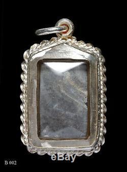 Phra LP. Suk Wat BakKrongMahKhamThow Thai Buddha Amulet Rare Talismans Be 2475