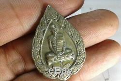 Phra LP Toa Wat Pradoochimplee, PIM PAT YOD YAI, have code, Old Thai Buddha Amulet