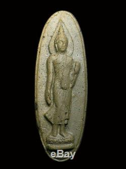 Phra Leera 25buddha Sattawas Wat Sutud 2500 Magic Clay Minerals Thai Amulet