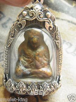 Phra Loplor, Luang Phor Ngern Buddha, wat Bangkhlan Phim Keeta, Thai BuddhAmulet