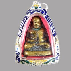 Phra Lp Ngern Thai Amulet Powerful For Money Buddha Lucky Talisman Charm Pendant