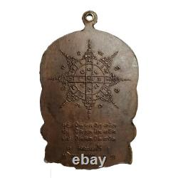 Phra Lp Tim Coin Rare Thai Buddha Amulet Wat Rahan Rai Magic Talisman Pendant