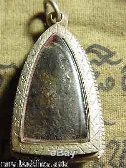Phra Luang Phor Thuad Wat Chang Hai, 2497 Thai Buddha in Silver case