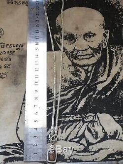 Phra Nakprok Baimakham, Lp Toh Rang Yant, yr2521, Wat Padoo Chimplee, Bkk, Buddha
