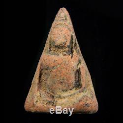 Phra Nang Phaya, Excellent Thai Ancient Magic Amulet Buddha, Kru Phitsanulok