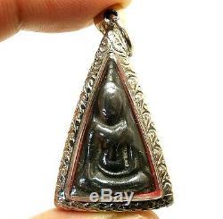 Phra Nang Phaya Makasit Leklai Thai Real Powerful Buddha Blessed Amulet Pendant