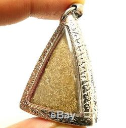 Phra Nangphaya Thai Antique Real Powerful Top 5 Benjapakee Buddha Amulet Pendant