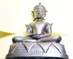 Phra Ngan Chai Hang Ngang Ajarn Thiam Thai Buddha amulet statue