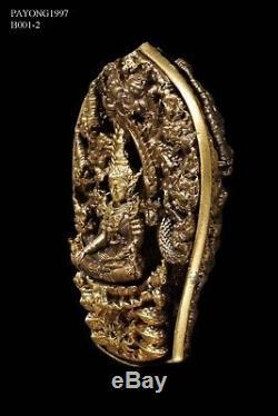 Phra PaThomNaKa Wat WiMutTiTham Thai Buddha Amulet Protect RARE