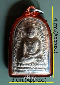 Phra Perm Kru Wat Don Keaw, Lumphun Real Thai Magic Amulet Buddha Talisman