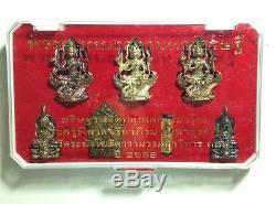 Phra Phrom Tada Maha Setti Special Set Phra Maha Surasak Thai Amulet Buddha