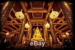 Phra Phutta Chinnarat Indo China Wat Sutat B. E. 2485 Thai Buddha Amulet